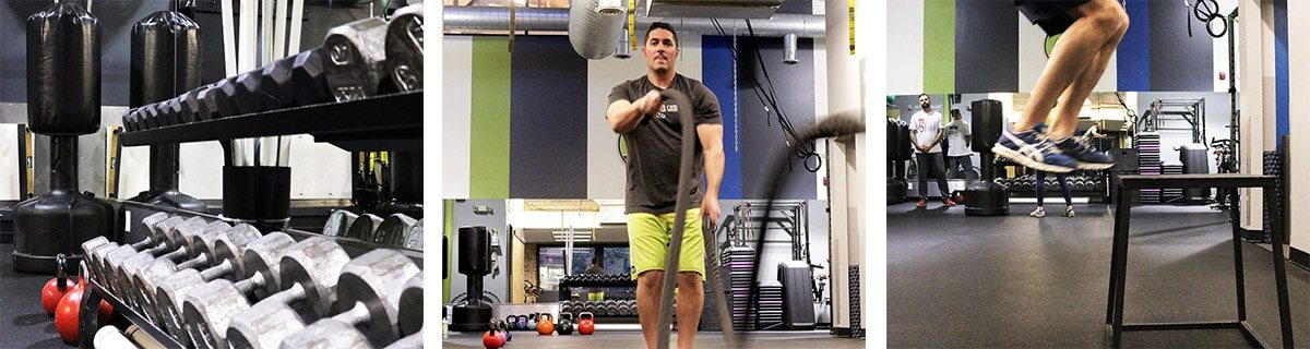 Training at Push Gym