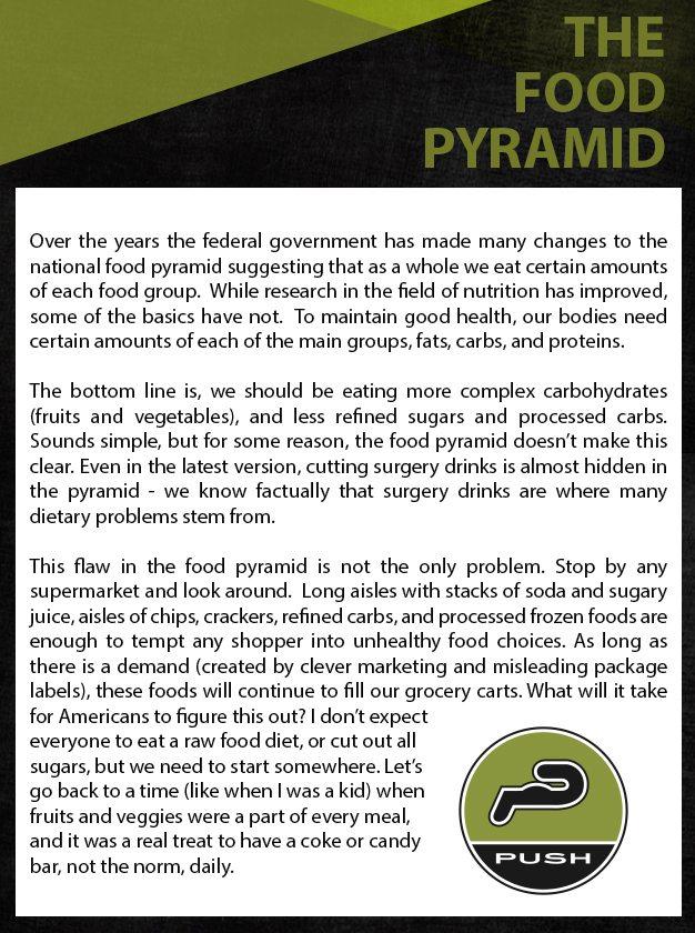 FinalFood Pyramid
